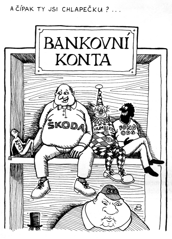 kresba Pavel Bosman